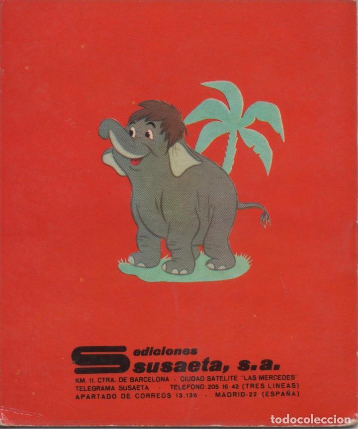 Tebeos: Mini Cuento - Mowgli y los elefantes - Walt Disney - Ediciones Susaeta - 1973 - Foto 2 - 171249225