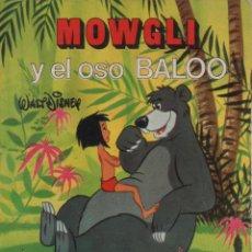 Tebeos: MINI CUENTO - MOWGLI Y EL OSO BALOO - WALT DISNEY - EDICIONES SUSAETA - 1973. Lote 171249254