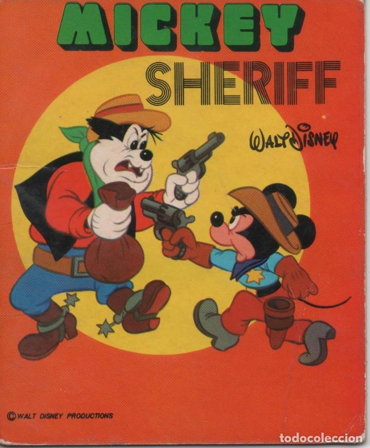 MINI CUENTO - MICKEY SHERIFF - WALT DISNEY - EDICIONES SUSAETA - 1973 (Tebeos y Comics - Tebeos Otras Editoriales Clásicas)