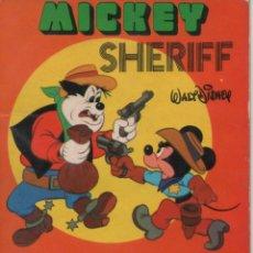 Tebeos: MINI CUENTO - MICKEY SHERIFF - WALT DISNEY - EDICIONES SUSAETA - 1973. Lote 171249288