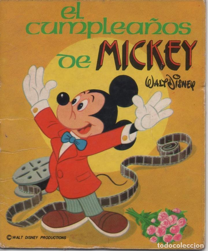 MINI CUENTO - EL CUMPLEAÑOS DE MICKEY - WALT DISNEY - EDICIONES SUSAETA - 1973 (Tebeos y Comics - Tebeos Otras Editoriales Clásicas)