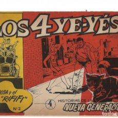 Tebeos: LOS 4 YE YES, Nº 2, LOS 4 YE YES ORIGINAL EN BUEN ESTADO-IMPORTANTE LEER TODO. Lote 171496474