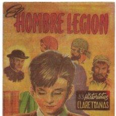 Tebeos: EL HOMBRE LEGION,, EDIT. LUCERO 1960, RARISIMO, PERFECTO Y ORIGINAL. Lote 171588468