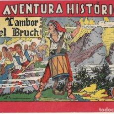 Tebeos: EL TAMBOR DEL BRUCH, AVRA.HISTORICA, AUGUSTA 1943,ORIGINAL EN MUY BUEN ESTADO, LOMO REFORZADO. Lote 171590214