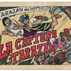 Tebeos: TARAZAN DE LOS MICOS Nº 6, VALENCIANA 1944, ORIGINAL EN MUY BUEN ESTADO. Lote 171591004