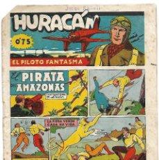 Tebeos: HURACAN, Nº 11, CISNE 1942, ORIGINAL EN MUY BUEN ESTADO - LEER Y VWE FOTO. Lote 171591594