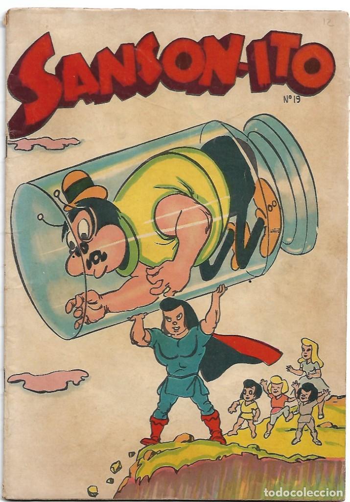 SANSONITO Nº 19, MEXICO 1953,COMO NOVARO. ORIGINAL RARISIMO BUEN ESTADO Y MUY BONITO,LEER TODO (Tebeos y Comics - Tebeos Otras Editoriales Clásicas)