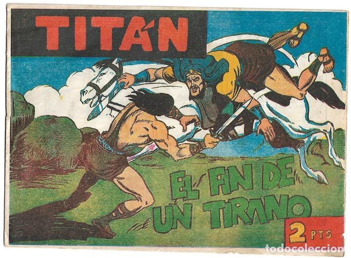 TITAN Nº 40 Y ÚLTIMO, ACRÓPOLIS 1960 EN BUEN ESTADO, VER FOTOS (Tebeos y Comics - Tebeos Otras Editoriales Clásicas)
