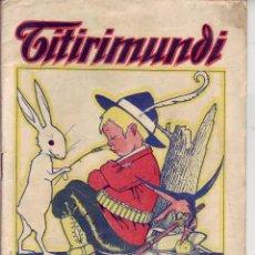 Livros de Banda Desenhada: TITIRIMUNDI REVISTA INFANTIL Nº 5. Lote 171845070