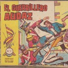 Tebeos: EL GUERRILLERO AUDAZ. VALENCIANA 1962. 25 EJEMPLARES. COLECCIÓN A FALTA DEL Nº 3. Lote 171983233