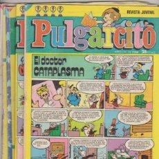 Tebeos: PULGARCITO. BRUGUERA. LOTE 4 EJEMPLARES: 2446,2538,2549 Y 2559. Lote 171983773