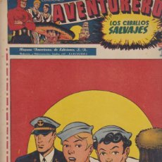 Giornalini: AVENTURERO Nº 8. HISPANO AMERICANA 1945. Lote 171984549