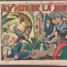 Tebeos: EL HIJO DE LA JUNGLA. VALENCIANA 1956. COLECCIÓN COMPLETA 86 EJEMPLARES. Lote 171984799