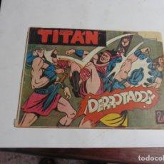 Tebeos: TITAN Nº27 ACROPOLIS ORIGINAL. Lote 171990350