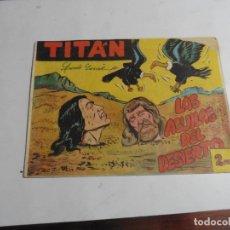 Tebeos: TITAN Nº38 ACROPOLIS ORIGINAL. Lote 171990480