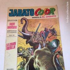 Tebeos: JABATO COLOR - Nº 10 - SEGUNDA EPOCA - LA GRAN BATALLA. Lote 172059562