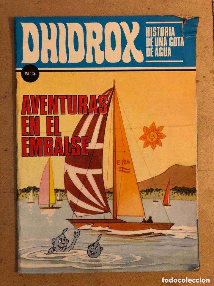 """DHIDROX N° 5 HISTORIA DE UNA GOTA DE AGUA """"AVENTURAS EN EL EMBALSE"""". EDICIONES PEDAGÓGICAS 1981. (Tebeos y Comics - Tebeos Otras Editoriales Clásicas)"""