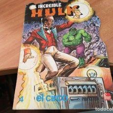 Tebeos: EL INCREIBLE HULK Nº 4 EL CIRCO. TROQUELADO (FHER)) (COIB22). Lote 173514347