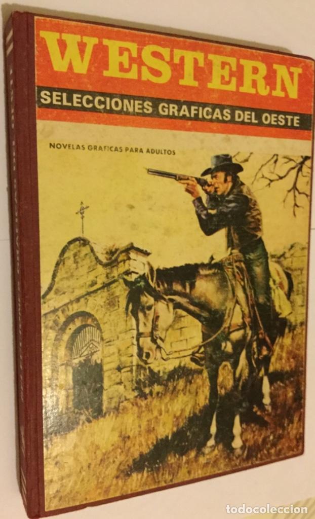 WÉSTERN SELECCIONES GRÁFICAS DEL OESTE AÑO 1972 COMPLETO PRODUCCIONES EDITORIALES BARCELONA BE (Tebeos y Comics - Tebeos Otras Editoriales Clásicas)