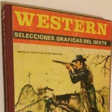Tebeos: WÉSTERN SELECCIONES GRÁFICAS DEL OESTE AÑO 1972 COMPLETO PRODUCCIONES EDITORIALES BARCELONA BE. Lote 174039987