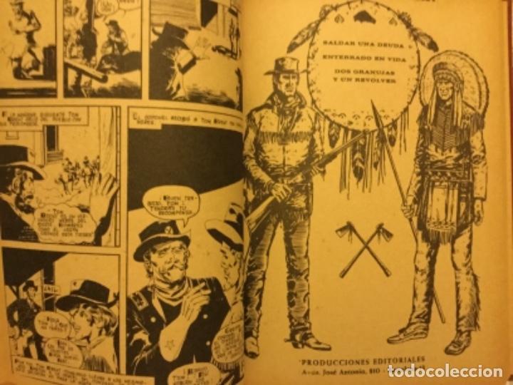 Tebeos: Wéstern Selecciones gráficas del Oeste año 1972 completo producciones Editoriales Barcelona be - Foto 5 - 174039987