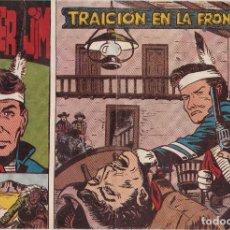 Tebeos: FRONTIER JIM Nº 2 TRAICION EN LA FRONTERA EL DE LA FOTO VER FOTO ADICIONAL CONTRAPORTADA. Lote 174079212
