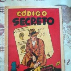 Tebeos: CODIGO SECRETO COMERCIAL GERPLA, ANTIGUO. Lote 174083193