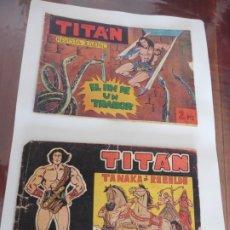 Tebeos: TITAN Nº 11-31- ACROPOLIS ORIGINA. Lote 174226898