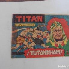 Tebeos: TITAN Nº 30- ACROPOLIS ORIGINA. Lote 174226992