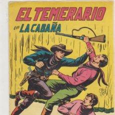 Tebeos: EL TEMERARIO Nº 9. VALENCIANA 1949. Lote 174554604