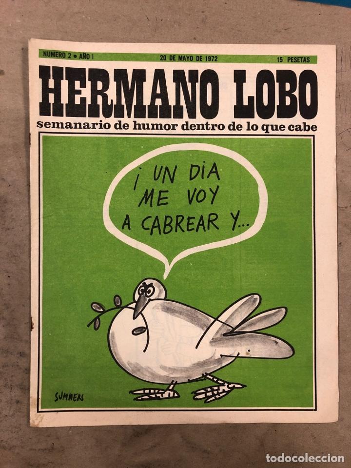 Tebeos: HERMANO LOBO. LOTE 4 NÚMEROS DE 1972 (2, 4, 16 y 27). FORGUES, SUMMERS, CHUMY CHUMEZ, GILA, PERICH,. - Foto 2 - 175529117