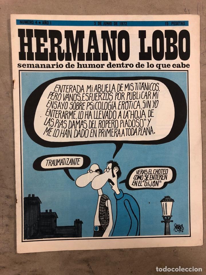 Tebeos: HERMANO LOBO. LOTE 4 NÚMEROS DE 1972 (2, 4, 16 y 27). FORGUES, SUMMERS, CHUMY CHUMEZ, GILA, PERICH,. - Foto 6 - 175529117