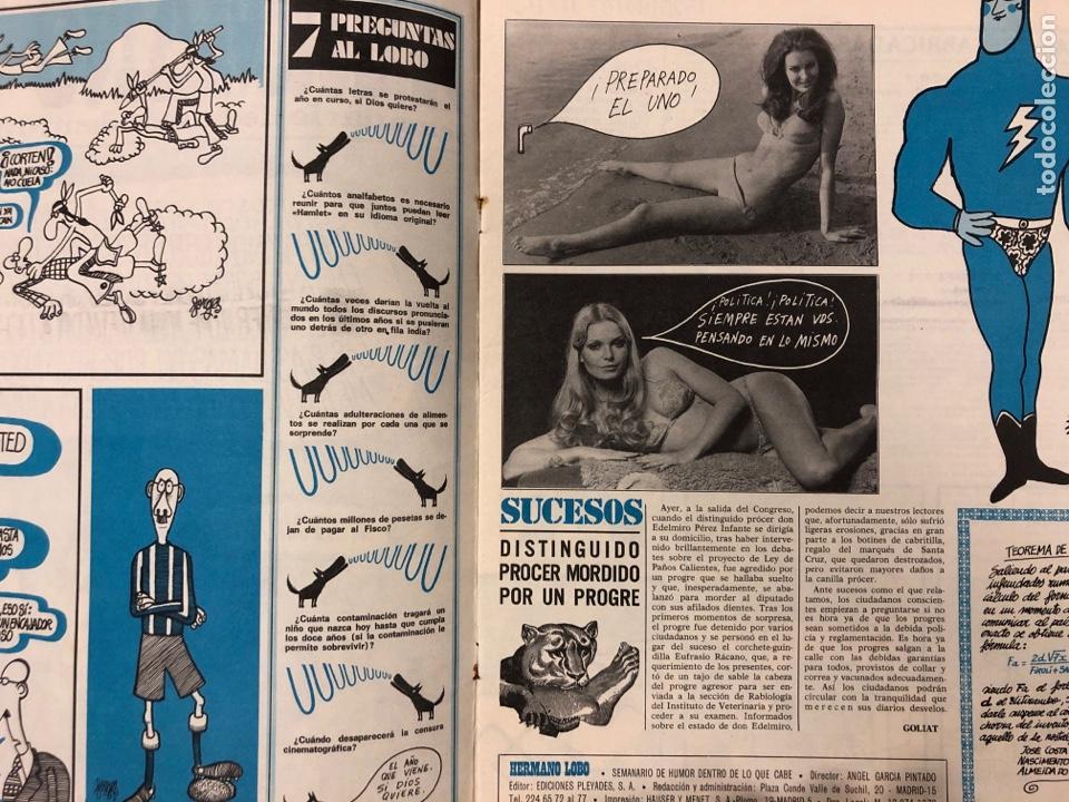 Tebeos: HERMANO LOBO. LOTE 4 NÚMEROS DE 1972 (2, 4, 16 y 27). FORGUES, SUMMERS, CHUMY CHUMEZ, GILA, PERICH,. - Foto 7 - 175529117