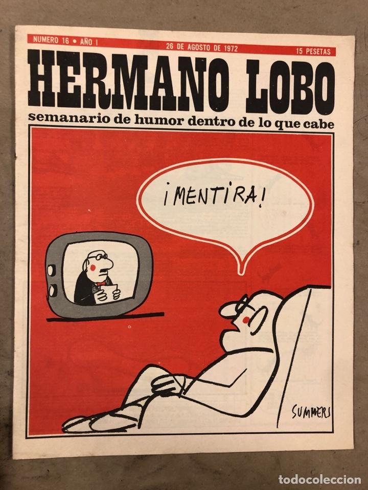 Tebeos: HERMANO LOBO. LOTE 4 NÚMEROS DE 1972 (2, 4, 16 y 27). FORGUES, SUMMERS, CHUMY CHUMEZ, GILA, PERICH,. - Foto 10 - 175529117