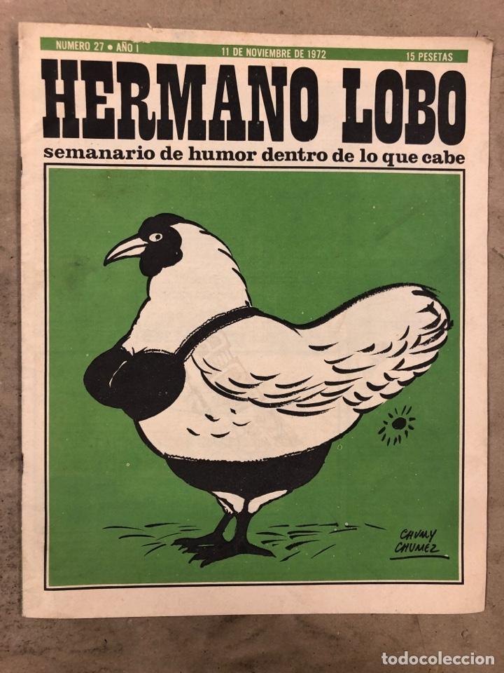 Tebeos: HERMANO LOBO. LOTE 4 NÚMEROS DE 1972 (2, 4, 16 y 27). FORGUES, SUMMERS, CHUMY CHUMEZ, GILA, PERICH,. - Foto 14 - 175529117