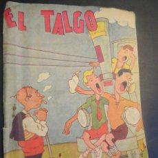 Tebeos: ANTIGUA Y CURIOSA PUBLICACIÓN INFANTIL , EL TALGO, PRO SEMINARIO, ZARAGOZA, VER FOTOS. Lote 211589705