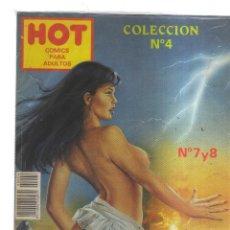 Tebeos: HOT COMICS PARA ADULTO COLECCION N,4 N,7 Y 8. Lote 175766393