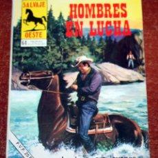 Tebeos: SALVAJE OESTE - HOMBRES EN LUCHA - PRODUCCIONES EDITORIALES - Nº 317. Lote 175841700