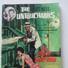Tebeos: THE UNTOUCHABLES , ELIOT NESS , ( LOS INTOCABLES ) Nº 11 ET. Lote 175909369