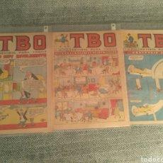 Tebeos: 3 COMICS TBO LOTE N8. Lote 176033534