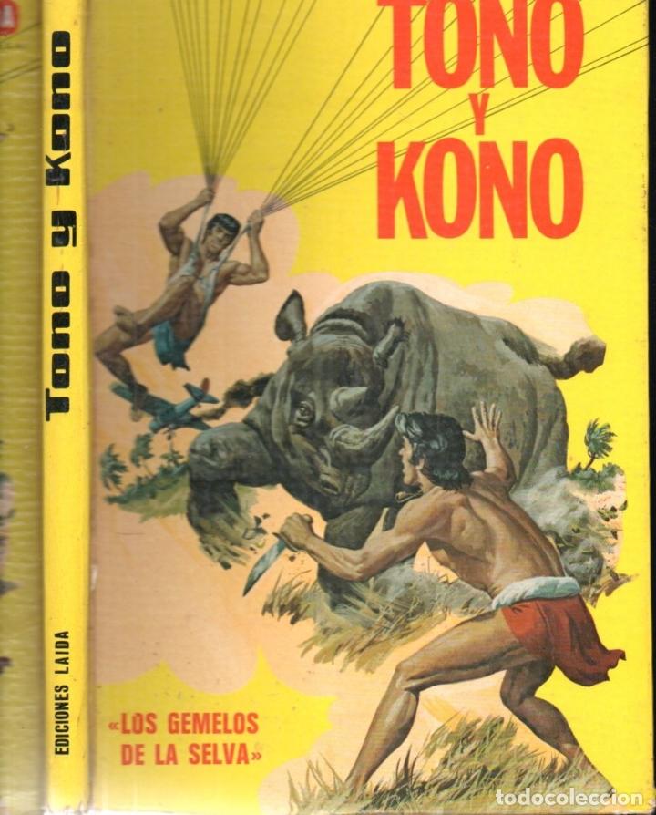 TONO Y KONO LOS GEMELOS DE LA SELVA (LAIDA, 1975) (Tebeos y Comics - Tebeos Otras Editoriales Clásicas)