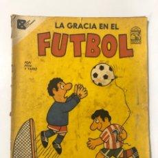 Tebeos: CUBA. LA GRACUA EN EL FUTBOL. COLECCION VECINOS. EDITORIAL PABLO DE LA TORRIENTE, 1990. Lote 176555000