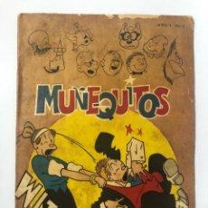 Tebeos: CUBA. MUÑEQUITOS. ¡AVENTURAS!. EDICIONES EN COLORES. Nº I. AÑO I. LA HABANA, 1965. . Lote 176556857