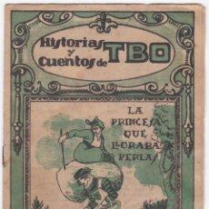 Tebeos: HISTORIAS Y CUENTOS DE TBO - Nº 28 - LA PRINCESA QUE LLORABA PERLAS. Lote 176826307