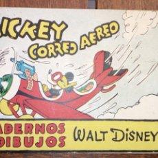 Tebeos: MICKEY CORREO AEREO, CUADERNOS DE DIBUJO WALT DISNEY EDITORIAL MOLINO NUM. 17 MICKEY CORREO AEREO. Lote 177138522