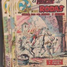 Tebeos: EL PRÍNCIPE DE RODAS. MAGA 1962. COLECCIÓN COMPLETA 56 EJEMPLARES (29 NÚMEROS SIN ABRIR). Lote 177252472