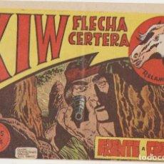 Tebeos: KIW FLECHA CERTERA Nº 9. SÍMBOLO 1954. ÚLTIMO DE LA COLECCIÓN. Lote 177253137