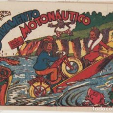 Tebeos: BIBLIOTECA ESPECIAL PARA NIÑOS. SALVAMENTO MOTONÁUTICO. MARCO 1942. Lote 177253147