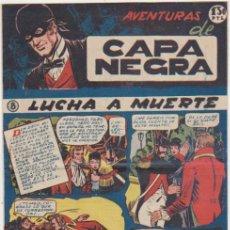 Tebeos: CAPA NEGRA Nº 8. RICART 1953. SIN ABRIR. Lote 177253168