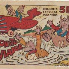 Tebeos: BIBLIOTECA ESPECIAL PARA NIÑOS. MONITO AVIADOR. MARCO 1942. Lote 177253248